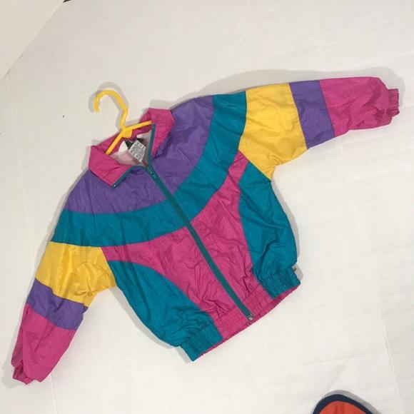 Jackets Coats Girls Vintage 80s 90s Style Jacket Size 4 Poshmark